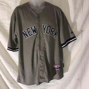 huge selection of 71424 a9791 Majestic MLB New York Yankees jersey 2 Derek Jeter